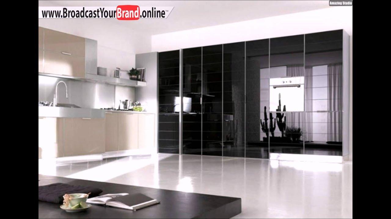 stosa küchen italien lackierte hochglanz oberflächen beige schwarz, Möbel