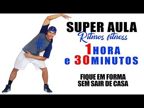 SUPER   Ritmos Fitness  1 HORA  30 MINUTOS  Queime Gordura e Perca Peso  Irtylo Santos
