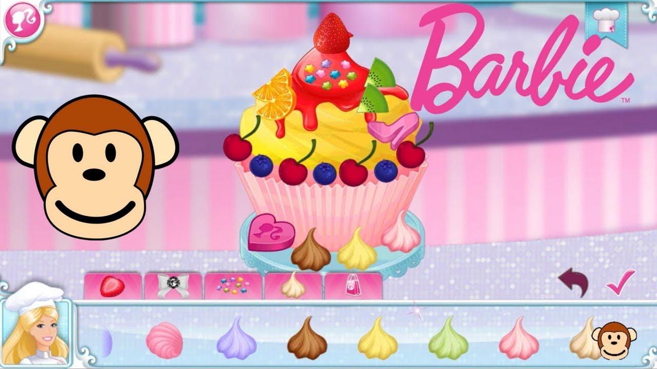Barbie Pastelera Cocina Deliciosos Cupcakes Juegos Y