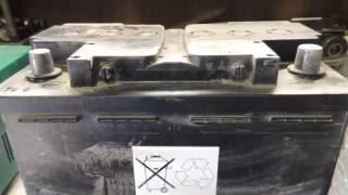 видео зарядка аккумулятора
