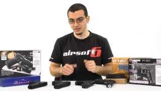 Airsoft6: Comparatie Pistoale Airsoft Gaz vs CO2 vs Electric