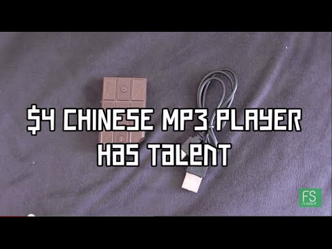 $4 Aliexpress Chinese MP3 Player Review - Unique