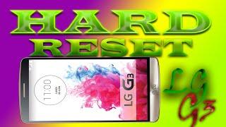 LG G3 hard reset - сброс до заводских настроек(объясняю для чего нужен hard reset и как произвести полный сброс из под системы android. думаю для всех будет поняте..., 2015-11-13T23:43:49.000Z)