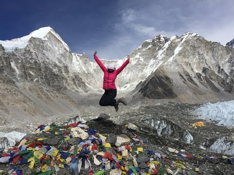 British Lady does Everest Base Camp Trek in Nepal...February 2017