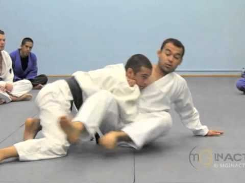 Side Control Escape #1 of 3 | SIT-UP with Marcelo Garcia