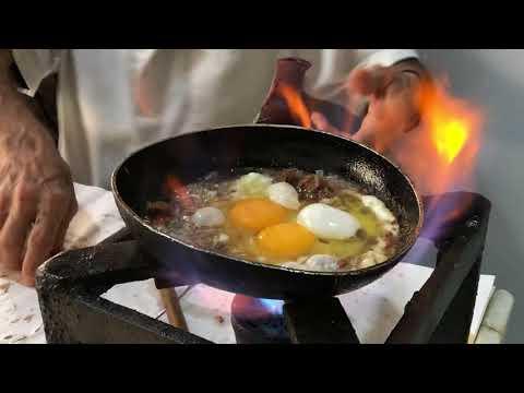 Al Soussi: The Best Traditional Lebanese Breakfast (eggs, hummus, foul, Fatteh) (Meet Raji Kebbeh)