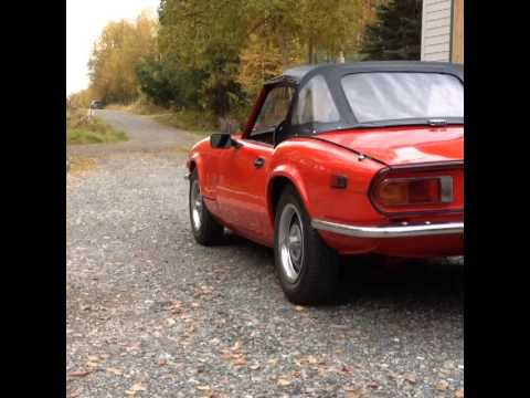 Repeat FOR SALE: 1978 Triumph Spitfire by steer wheel