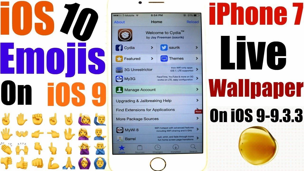 How To Install: IPhone 7 Live Wallpapers + IOS 10 NEW