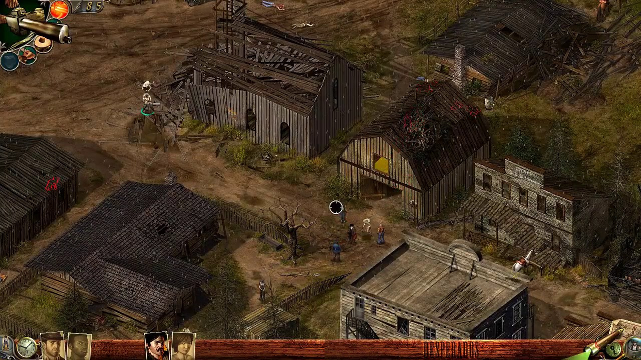 Desperados Wanted Dead Or Alive Speedrun Showdown In Deadstone Mission 22 In Hd Youtube