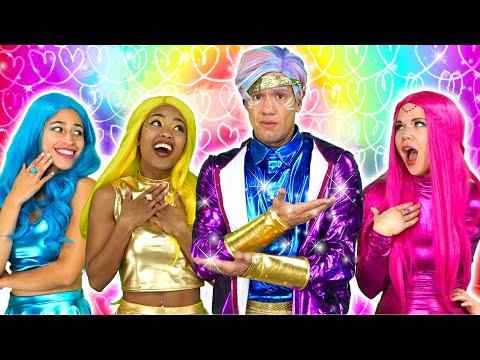 SUPER POPS PICK A BOYFRIEND CHALLENGE WHAT BOYFRIEND WILL THEY FIND? Totally TV Originals