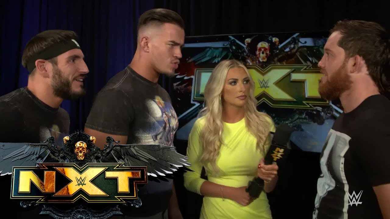 Download Kyle O'Reilly challenges Austin Theory to a match on NXT: July 20, 2021