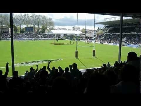 Bayonne - Biarritz : derby basque du 14 avril 2012. Chant de Supporters