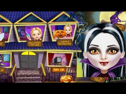 Sweet Baby Girl Halloween Fun - Game for kids 2019 - 동영상