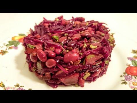 Рецепт: Салат из свеклы по-корейски на