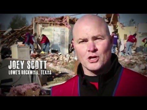 Lowes Heroes Ist Tornado Victims In Texas