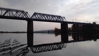 Swimmer 370 Река Сок Осень