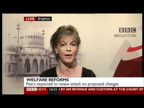 Sue Marsh on BBC News about Welfare Reform 14/02/2012