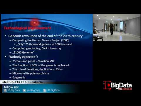 Meetup idbigdata #13 Fakultas Kedokteran UI - Jakarta - Setia Pramana Ph.D.