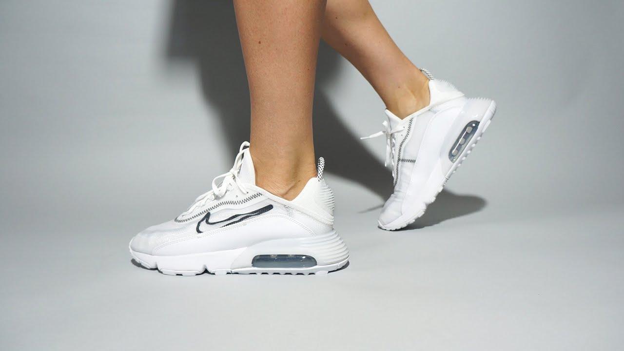 Nike Air Max 2090 White CK2612-100 on feet