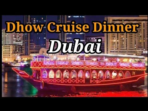 Dubai Creek Dinner Dhow Cruise, Dubai  cruise Happy smile
