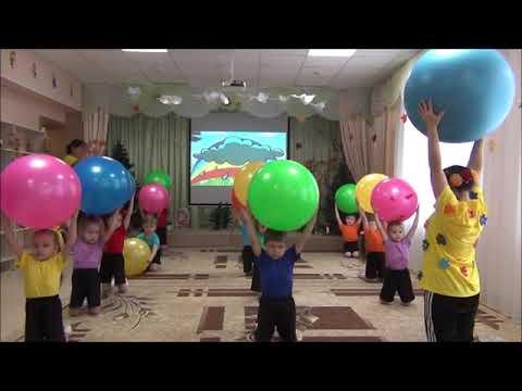 физкультурное занятие в средней группе 2018 год
