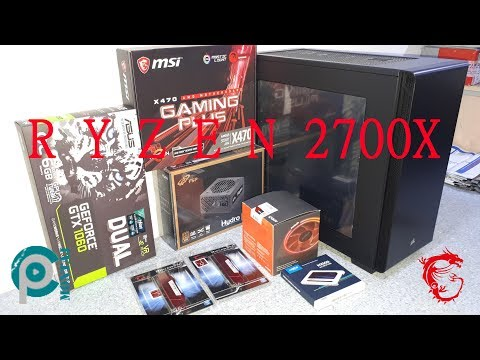 RYZEN 2700X - X470 GAMING PLUS - GTX 1060 DUAL PC MONTAJ