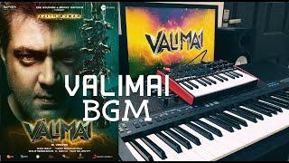 Valimai Motion Poster BGM | SM Music Tech | Thala Ajith | Yuvan Shankar Raja
