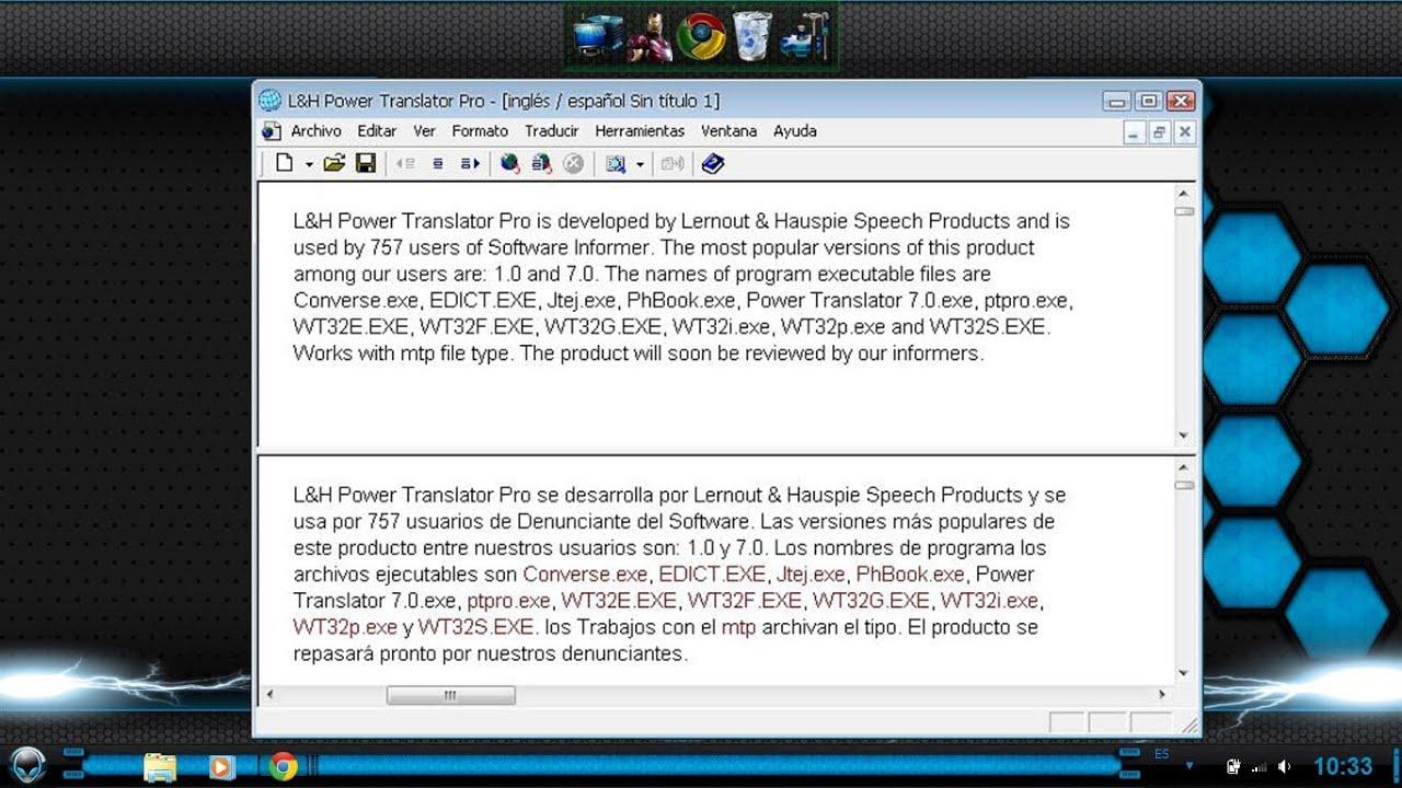 descargar traductor para pc