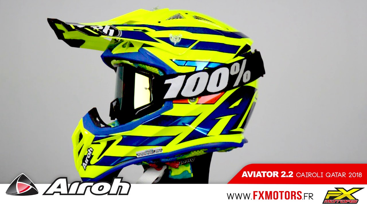 Airoh Aviator 22 Cairoli Qatar 2018 Youtube
