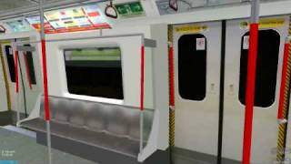 [OpenBVE] K-Train on Tsuen Wan Line (Admiralty to Mong Kok)