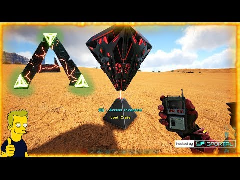 RAGNAROK MAP REVEAL LOOT CRATE LOCATION GPS COORD LOOT CRATE LOCATION ARK  Survival Evolved S1 E32