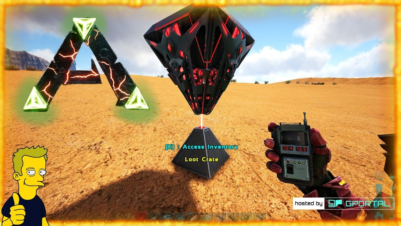 Charming RAGNAROK MAP REVEAL LOOT CRATE LOCATION GPS COORD LOOT CRATE LOCATION ARK  Survival Evolved S1 E32