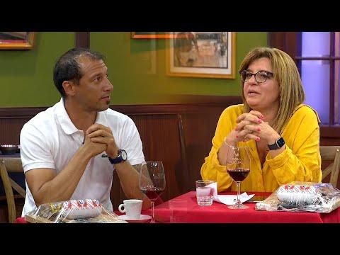 Dra. Alejandra Rey y Richard Canguro Porta
