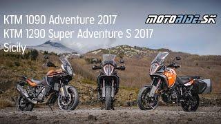 Motoride.sk: KTM 1090 Adventure a 1290 Super Adventure S 2017 test na Sicílii