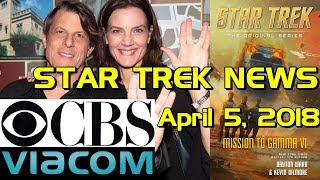 Star Trek News: Terry Farrell and Adam Nimoy get married, CBS/Viacom merger rumblings, and more!