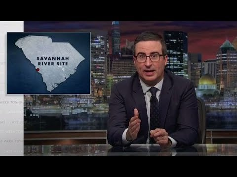 Last Week Tonight with John Oliver - Savannah River Site (HBO)