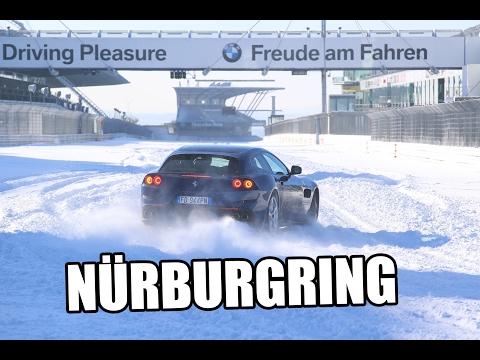 Ferrari GTC4 Lusso | V12 Sound | 300 km/h | Nürburgring bei Schnee | sport auto