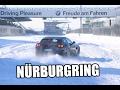 Ferrari GTC4 Lusso   V12 Sound   300 km/h   Nürburgring bei Schnee   sport auto