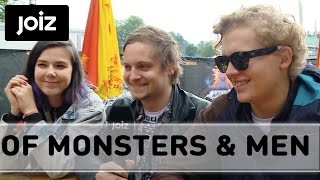 "Of Monsters and Men explain the Icelandic ""incest app"" (1/2)"