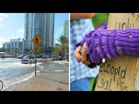 Miami Under Water, Billionaires Could End Poverty 7 Times—Theresa Joy Guest Reporting!