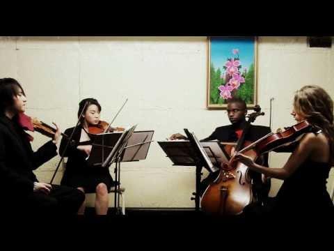 "iconiQ String Quartet - Hornpipe in D (from ""Water Music""), Handel (exc.)"