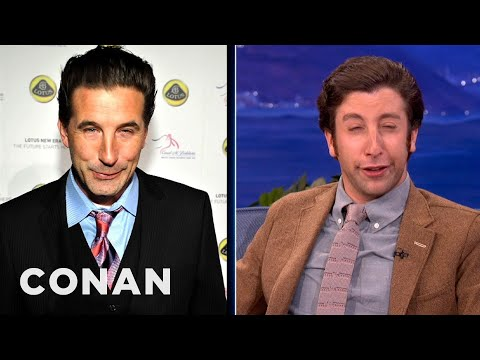 Simon Helberg Channels Nic Cage, Billy Baldwin & Ben Stiller - CONAN on TBS