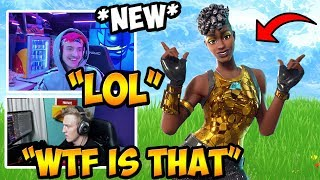 STREAMERS REACT TO *NEW* DISCO DIVA SKIN!! Item Shop Today! | Fortnite Moments