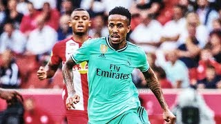 Eder Militao DEBUT for Real Madrid - All Touches & Skills (7/8/2019)