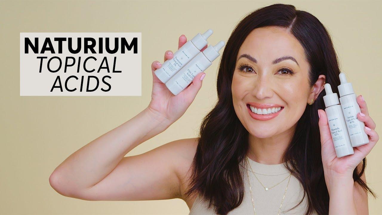 Azelaic, Mandelic, Tranexamic Acids & PHAs: NATURIUM Topical Acids Are Here for Every Skin Type!