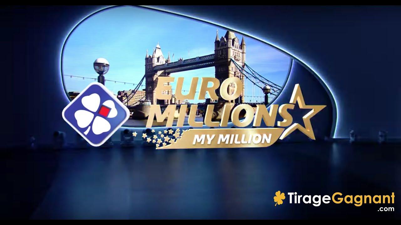 3fc90df2e6bd9c EuroMillions My Million FDJ   Tirage officiel du Mardi 13 Novembre 2018    Résultats