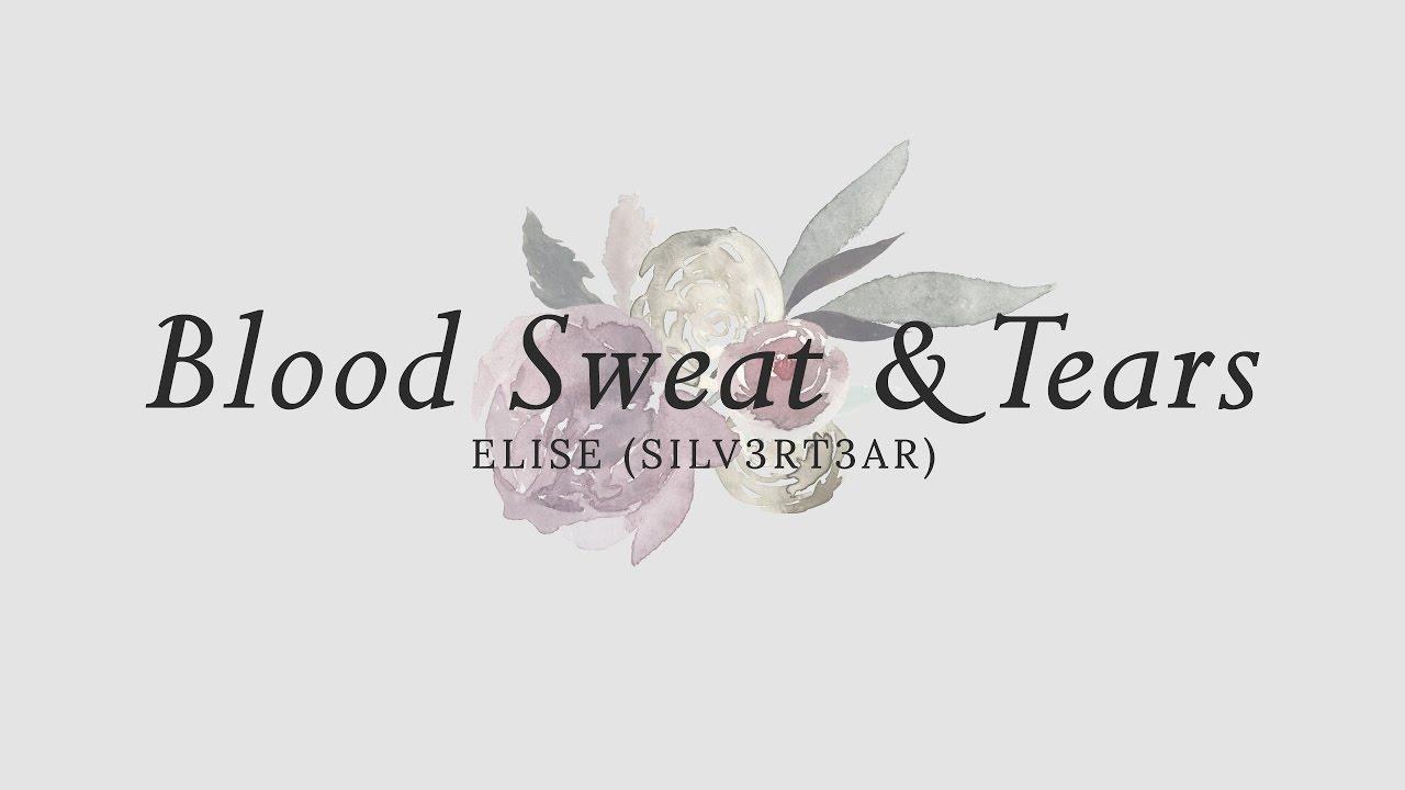 (Acoustic English Cover) BTS - Blood Sweat & Tears (피 땀 눈물) | Elise (Silv3rT3ar) #1