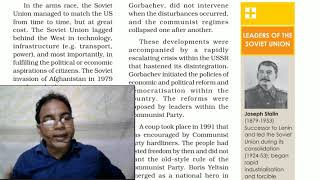 Gorbachev And The Disintegration / The End Of Bipolarity / Contemporary World Politics /  / Class 12