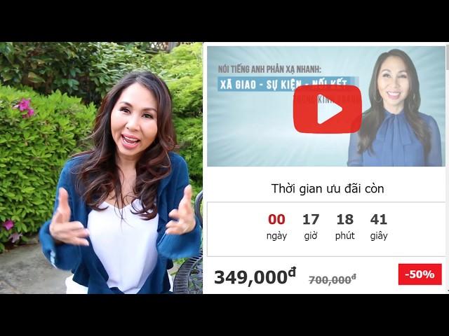 Ngày Cuối 18/4 Coupon Giảm Giá 50% Lớp Học Online Của Cô Lan Bercu