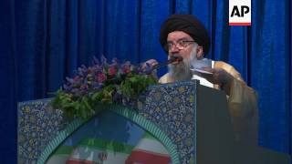 """Khatami: Iran won't give up for US """"wolves"""""""